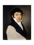 Portrait of Petronio Montanari Giclee Print by Pelagio Palagi