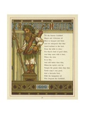 Gog and Magog Giclee Print by Thomas Crane
