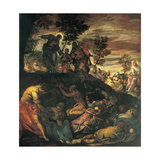 The Miracle of the Loaves and Fishes, 1579 Giclee Print by Jacopo Robusti Tintoretto