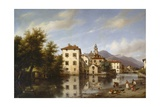 Landscape in Lombardy Giclee Print by Giuseppe Canella