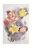 Bouquet, C.1923 Reproduction procédé giclée par Charles Demuth
