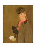 Portrait of the Artist's Sister, Winifred Giclee Print by Gwen John