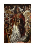 Coronation of Virgin Giclee Print by Fernando Gallego