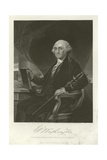 George Washington Giclee Print by Alonzo Chappel