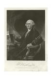 George Washington Giclee Print by Alonzo Chappel