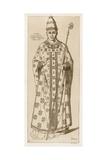 The Pope Giclee-trykk av Raphael Jacquemin