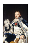 Portrait of Count Francais De Nantes Giclee Print by Jacques-Louis David