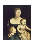 The Wife of Artist Giclee Print by Hans Holbein the Younger