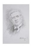Portrait of Herbert Henry Asquith Giclee Print by Noel Dorville
