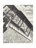 Banking at 4000 Feet, C. 1918 Giclee Print by Christopher Richard Wynne Nevinson