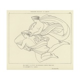 Pandora Brought to Earth Giclee Print by John Flaxman