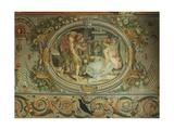 Geometry, Fresco Giclee Print by Francesco Primaticcio