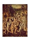 Christ in Limbo Giclee Print by Bartolome Bermejo