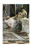The Letter from an Absent One, 1871 Giclee Print by Sir Lawrence Alma-Tadema
