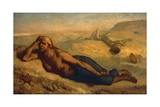 Hagar and Ishmael Giclee Print by Jean-François Millet