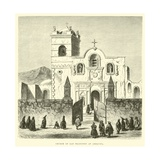 Church of San Francisco at Arequipa Giclee Print by Édouard Riou