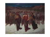 Flood, 1895-1896 Giclee Print by Giuseppe Pelizza da volpedo