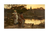 The End of the Journey, C.1870 Giclee Print by Philip Richard Morris