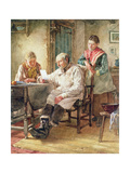 The Morning Post Giclee Print by Walter Langley