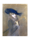 Portrait of Peggy Letellier Giclee Print by Paul Cesar Helleu