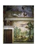 Hunting Scenes, Fresco Giclée-tryk af Antonio Tempesta