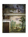 Hunting Scenes, Fresco Giclee Print by Antonio Tempesta