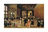 Ball at Time of Henry IV Giclee Print by Louis De Caulery