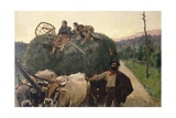Hay, 1893 Giclee Print by Luigi Rossi