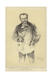 Jules Lemaitre, French Critic and Dramatist Giclee Print by Paul Mathey