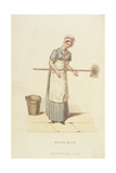 The Housemaid from 'The World in Miniature', 1827 Giclee Print by William Henry Pyne
