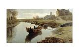 Poor Venice, 1882-1883 Giclee Print by Pietro Fragiacomo