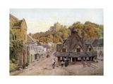 Dunster, Somerset Giclee Print by Alfred Robert Quinton