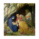The Three Wise Kings Giclee Print by George Spencer Watson