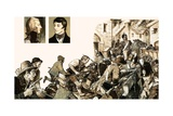 The Irish Rebellion of 1798 Giclee Print by Kenneth John Petts