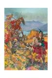 Childe Harold's Pilgrimage Giclee Print by John Millar Watt