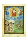 Last Judgement, 1520's Giclee Print by Simon Bening