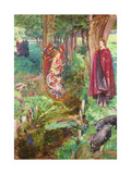 Time and Chance Happeneth to All Alike, 1901 Giclee Print by John Byam Liston Shaw