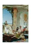 Women of a Harem in Morocco, 1875 Gicléedruk van Jean Joseph Benjamin Constant