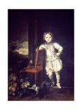 Child in White Dress Giclée-Druck von Anthony Van Dyck