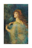 The Enchantress Giclee Print by Arthur Hughes