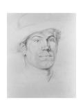 Self Portrait, C.1911 Giclee Print by Christopher Richard Wynne Nevinson