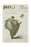 Cedant Arma Togae, No. 3, from 'Psst', 1898 Giclee Print by Jean Louis Forain