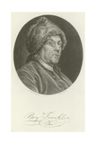 Benjamin Franklin Giclee Print by Charles Nicolas II Cochin