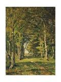 L'Allee De Famars, 1887 Giclee Print by Henri-Joseph Harpignies