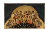 Chorus of Angels Giclée-Druck von Paolo Veneziano
