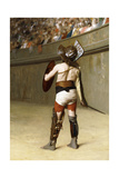 Mirmillon - a Gallic Gladiator Giclee Print by Jean Leon Gerome