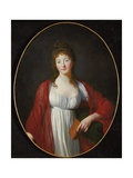 Portrait of Diane De Simiane, C.1800 Giclee Print