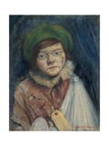 Camden Town Kid, or Cockney Stoic, 1940 Giclee Print by Christopher Richard Wynne Nevinson
