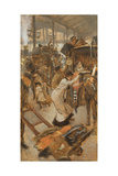 Departure Platform, Victoria Station, C.1881-82 Giclee Print by James Tissot
