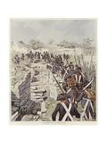 Soldiers Among the Ruins of Nicopolis Giclee Print by Felicien Baron De Myrbach-rheinfeld